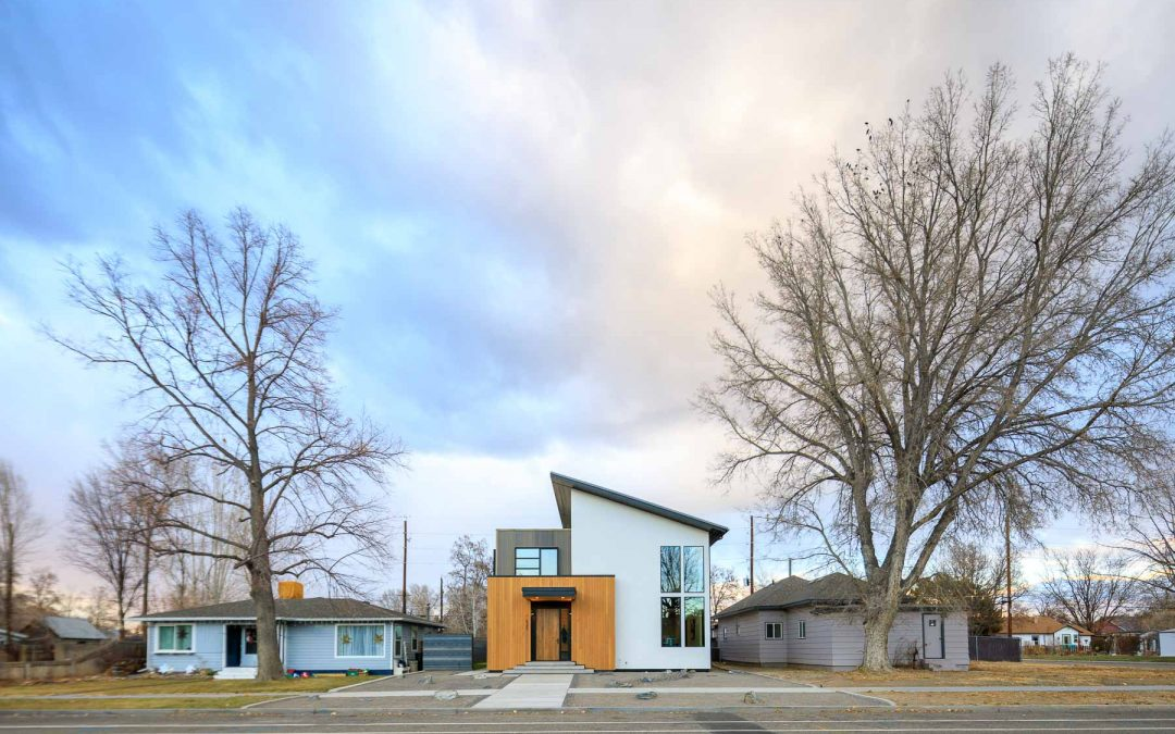 Building a Modern House in a Historic District in Fruita, Colorado